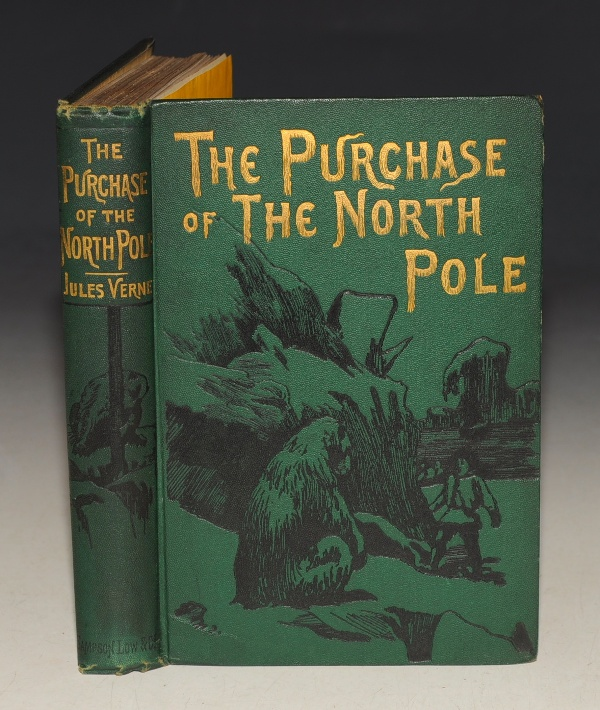 "Image for The Purchase of The North Pole. A Sequel to ""From the Earth to the Moon."" Illustrated."