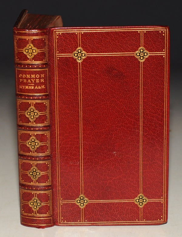 Image for The Book of Common Prayer & Hymns Ancient & Modern. And Administration of the Sacraments and other Rites and Ceremonies of the Church, according to the use of The United Church of England and Ireland, together with The Psalter or Psalms of David... and the Consecrating of Bishops, Priests and Deacons. PLUS Hymns, Complete Edition. Two Volumes In One.
