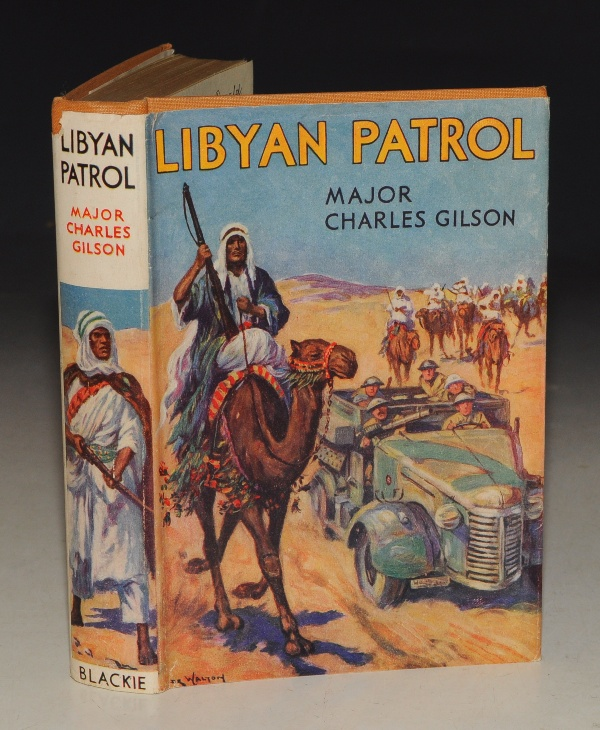 Image for Libyan Patrol. Illustrated by John Walton.