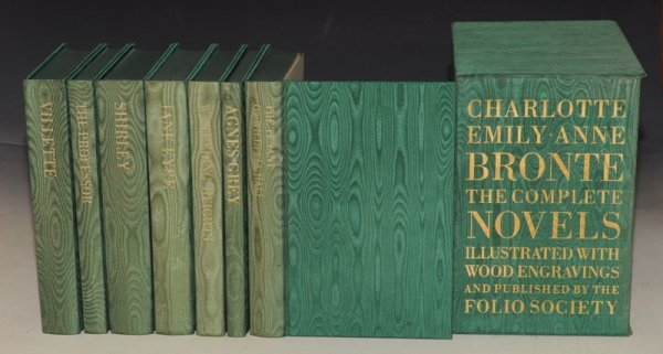 Image for The Complete Novels Folio Edition. Boxed Set. Illustrated with wood engravings. Jane Eyre, The Professor, Shirley, Villette, Wuthering Heights, Agnes Grey, The Tenant of Wildfell Hall. Seven (7) Volumes.