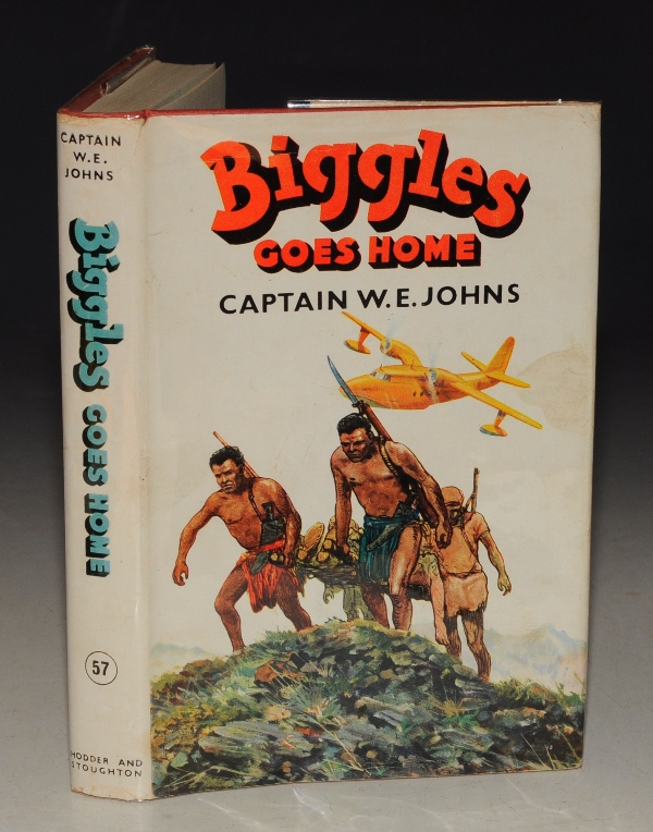 Image for Biggles Goes Home.