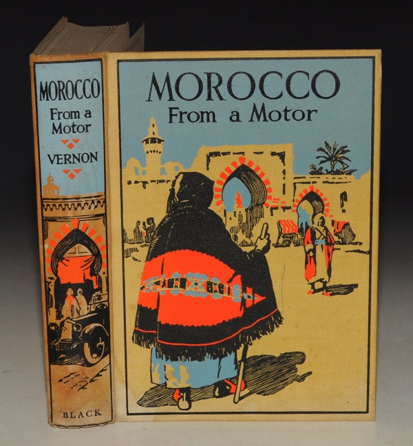 Image for Morocco from a Motor. Containing 48 Full-Page Illustrations in Colour.