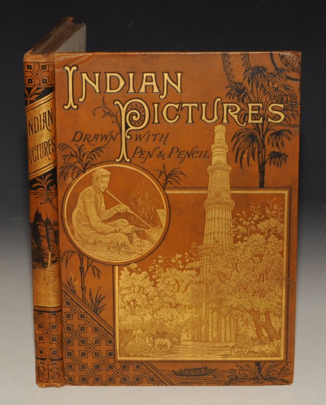 Image for Indian Pictures. Drawn With Pen and Pencil.