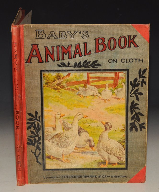 Image for Baby's Animal Book on Cloth Large Coloured Pages of Favourite Animals.