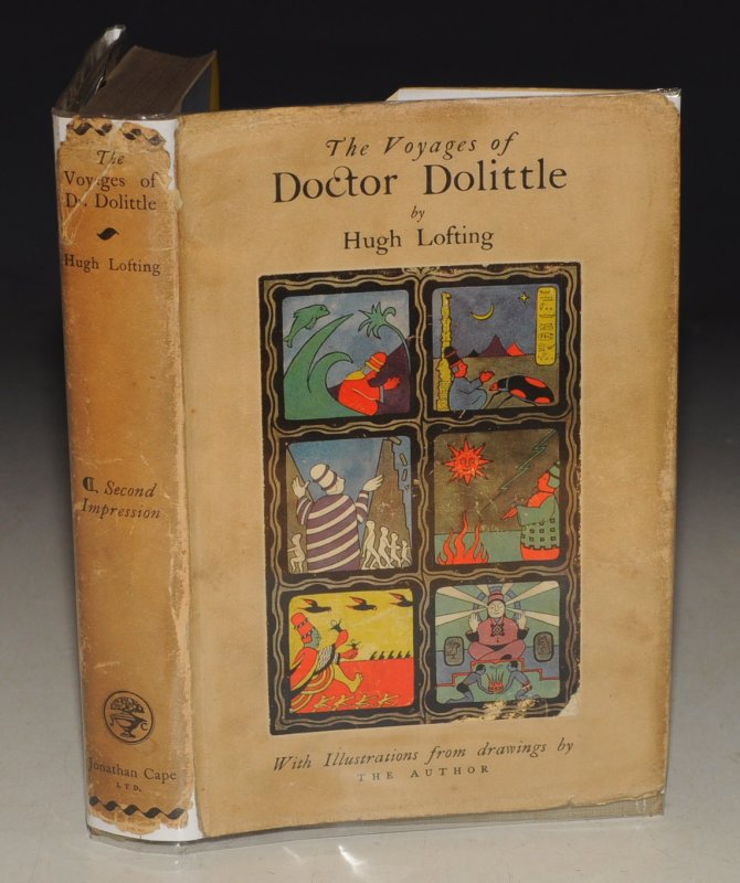The Voyages of Doctor Dolittle Illustrated by the Author.
