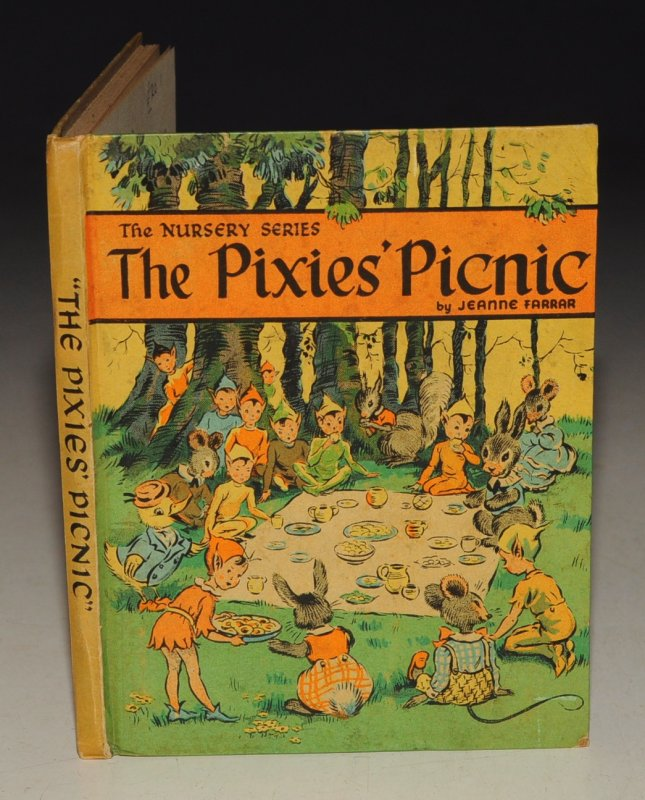 Image for The Pixies' Picnic The Nursery Series. Written and Pictured by Jeanne Farrar.