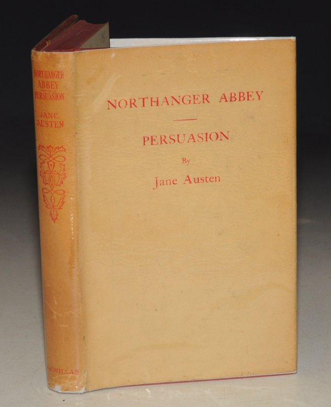 Image for Northanger Abbey and Persuasion. Illustrated by HUGH THOMSON. With an Introduction by Austin Dobson. Two Volumes in One.