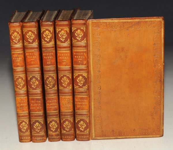 Image for The Works of Lord Byron. In Five Volumes.
