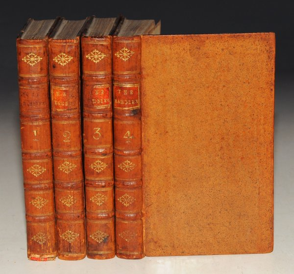 Image for The Rambler. In Four Volumes. The Fifth Edition.
