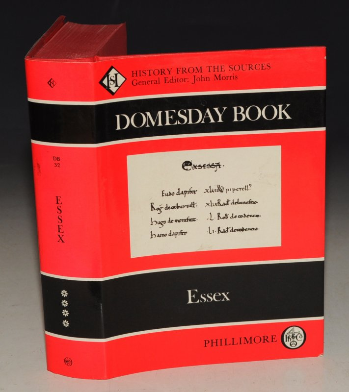 Image for Essex Domesday Book 32. Edited by Alexander rumble. From a draft translation prepared by J Plaister and V Sankaran.