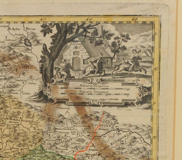 Image for Original Engraved Map of Hungary, Regni Hungariae. Tabula Generalis Archetypo Mulleriano S C M Capit et Ing. de fumata et in hane fomain contracta Viis Vere dariis aucta, pacis passarovicensis confiniis illustrata a Io Bapt Homanno. (Trans: General board Archetype Mulleriano landlord and other. has been issued this form of the limited ways, is really being given increased peace Passarovicensis? regions illuminated by John Bapï Majest.)