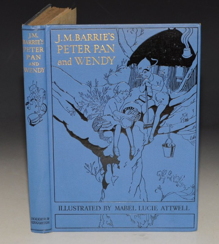 Image for Peter Pan and Wendy. Retold by May Byron for Boys and girls with the approval of the Author. Pictures by Mabel Lucie Attwell.