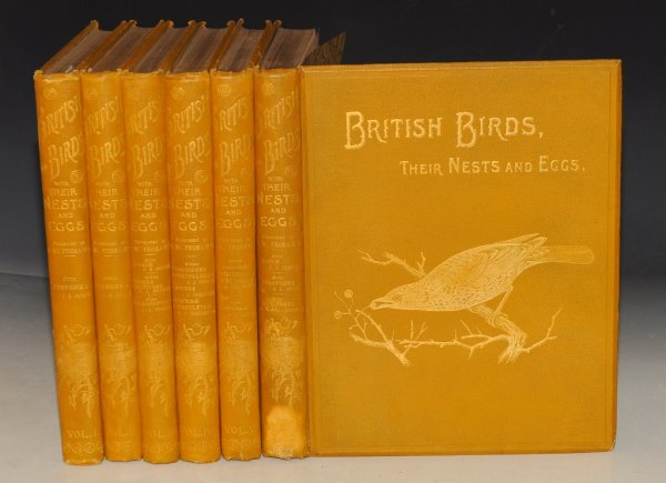 Image for British Birds With their Nests and Eggs. In Six Volumes. Illustrated by F.W. Frowhawk.