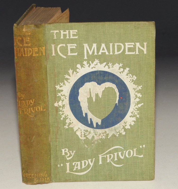 Image for The Ice-Maiden, A Novel. SIGNED.