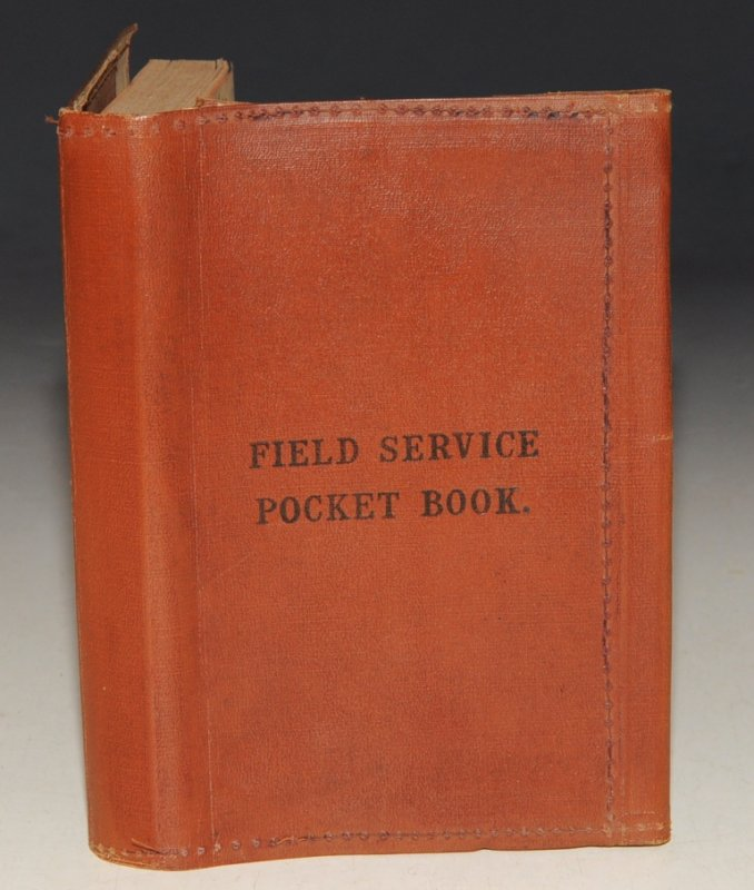 Image for Field Service Pocket Book Part 1. - Countries Other Than India. 1926. (Corrected up to August, 1925.)