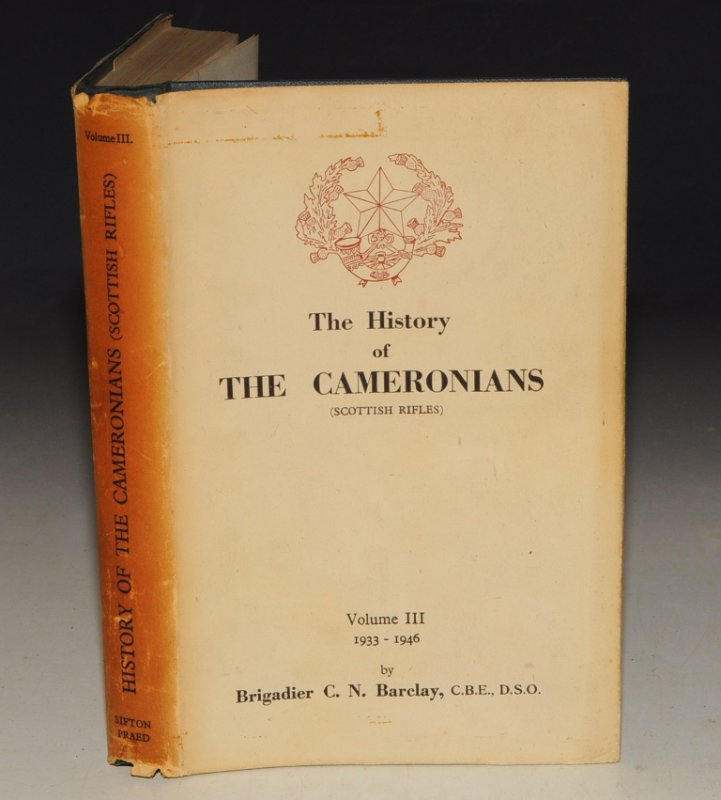 Image for The History of the Cameronians (Scottish Rifles) Vol. III 1933-1946.