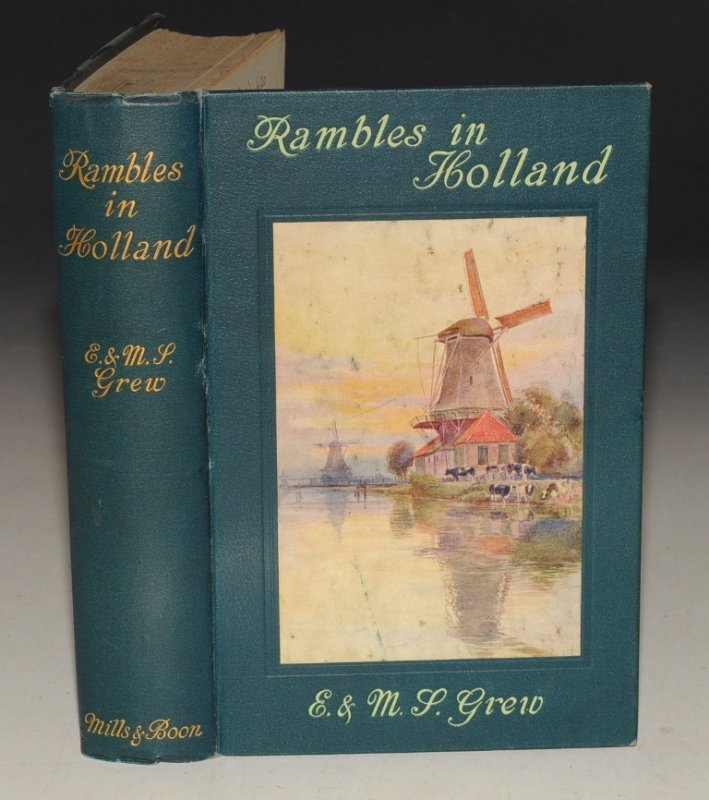 Image for Rambles in Holland One Illustration in Colour by D. Macpherson, 32 from photographs and a map.