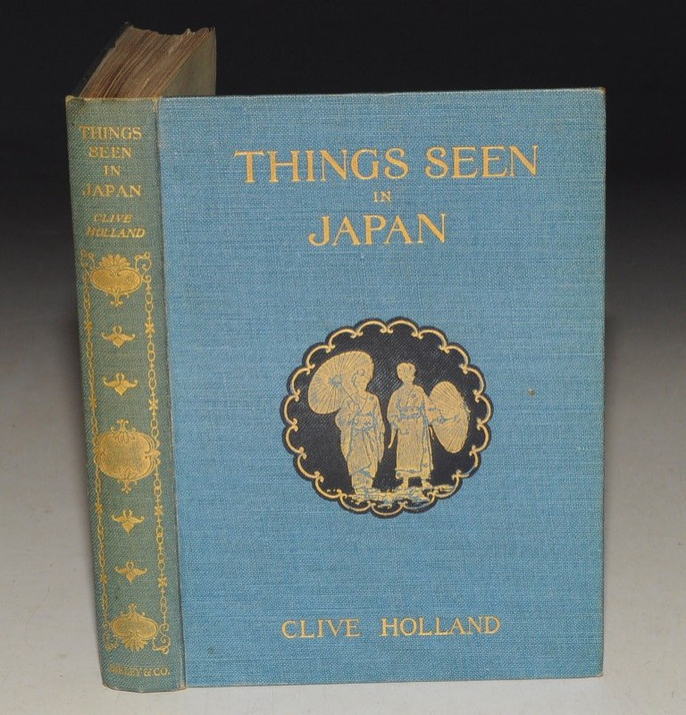 Image for Things Seen in Japan With Fifty Illustrations. Second Edition.