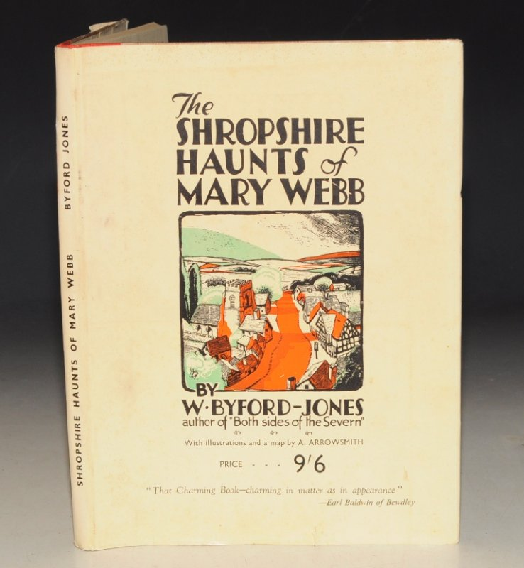 "Image for Shropshire Haunts of Mary Webb. (By the author of ""Both sides of the Severn"")."