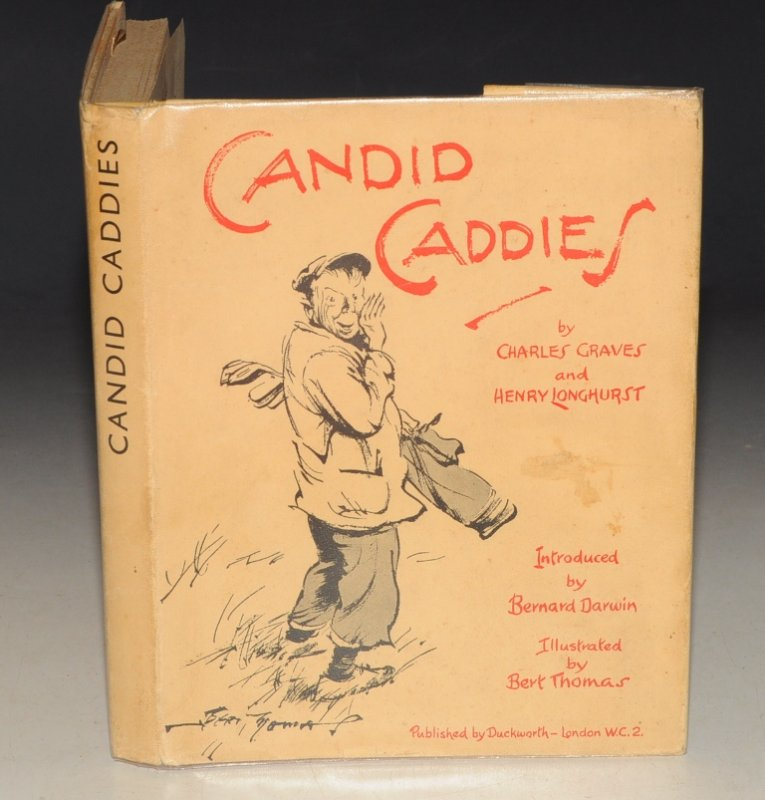 Image for Candid Caddies. Introduced by Bernard Darwin.