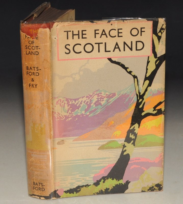 Image for The Face of Scotland. Foreword by JOHN BUCHAN. Illustrated from drawings by BRIAN COOK, and from photographs. Second Edition.