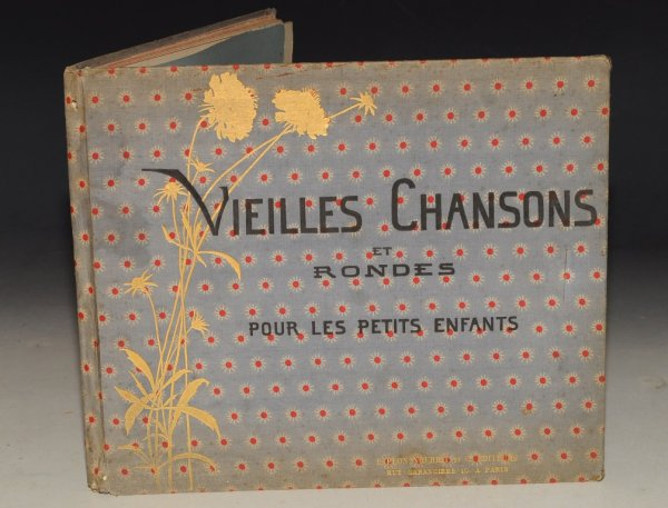 Image for Vielles Chansons et Rondes Pour les Petits Enfants. Avec accompagnements de Ch. M. Widor. Illustrations Par M.B. de Monvel. (Old Songs and Rounds for Little Children. With accompaniments of Ch. M. Widor. Illustrations By M.B. de Monvel.)