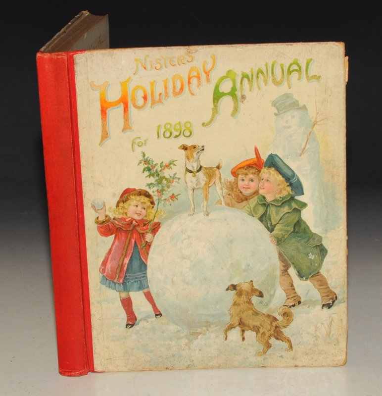 Image for Nister's Holiday Annual for 1898 With Stories by G. Manville Fenn, Mrs. Molesworth, &c. &c. Edited by Robert Ellis Mack and Alfred Fuller.
