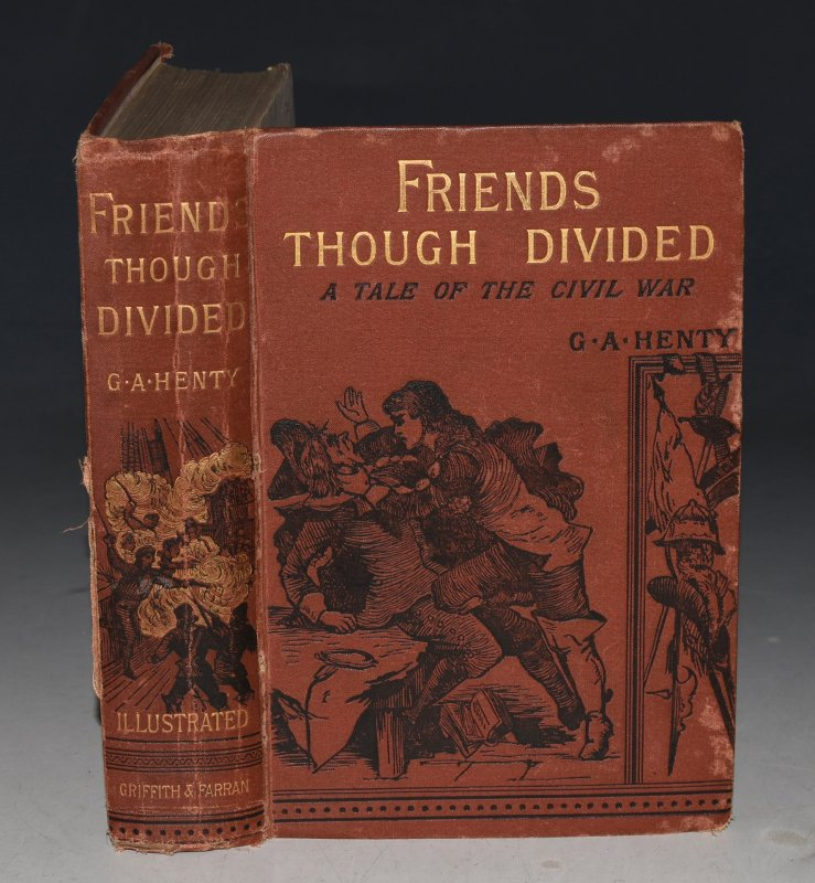 Image for Friends Though Divided. A Tale of the Civil War.