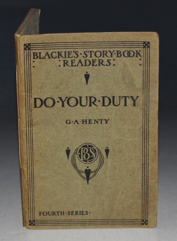 "Image for Do Your Duty. ""Blackie's Story-book Readers"" (Suitable for Children of 10 to 11.)"
