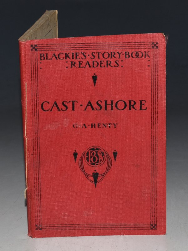 "Image for Cast Ashore. From ""Under Drake's Flag"". ""Blackie's Story-book Readers"""