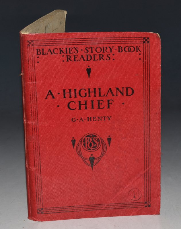 "Image for A Highland Chief. From ""In Freedom's Cause"". ""Blackie's Story-book Readers""."