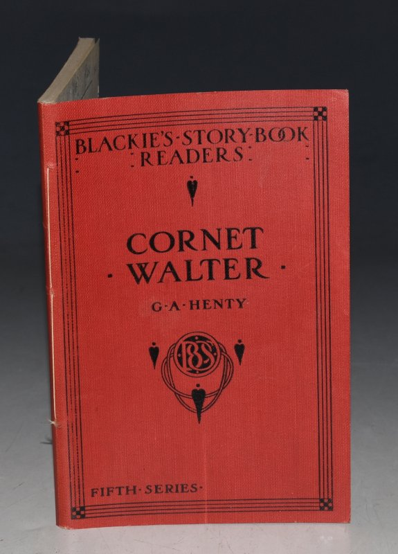 "Image for Cornet Walter From Orange and Green. ""Blackie's Story-book Readers""."