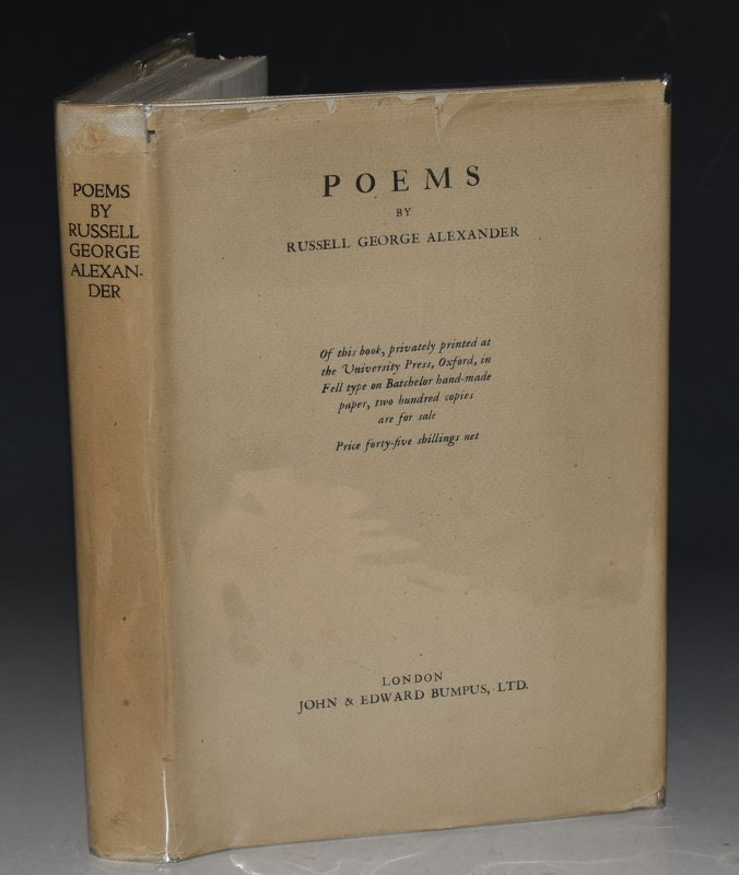 Image for Poems Limited Numbered & Signed Edition by John & Edward Bumpus.