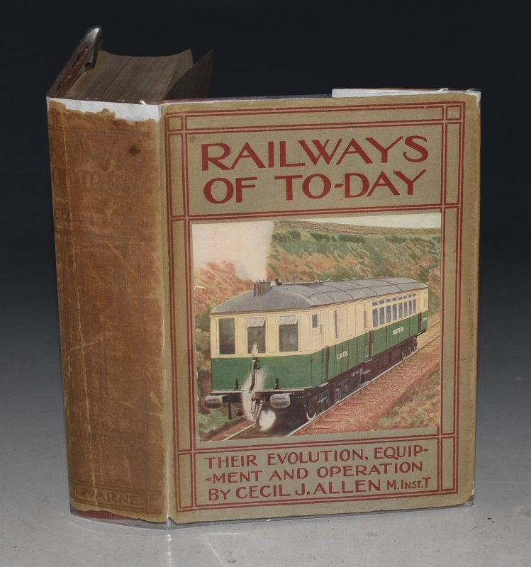 Image for Railways of To-Day Their Evolution, Equipment and Operation. With appendices etc. Illustrated with 26 Coloured plates, Sectional Chart of Express Locomotive, 200 Photo Reproductions and 25 Diagrams. With supplement.