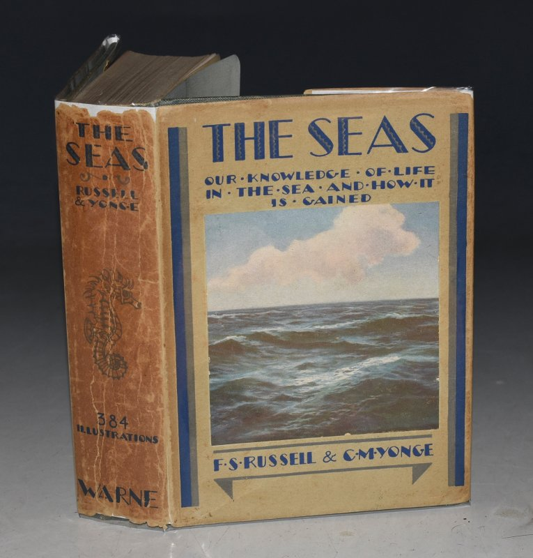 Image for The Seas. Our Knowledge of Life in the Sea and How it is Gained. With 384 illustrations 167 of which are in full colour. The Wayside and Woodland Series.