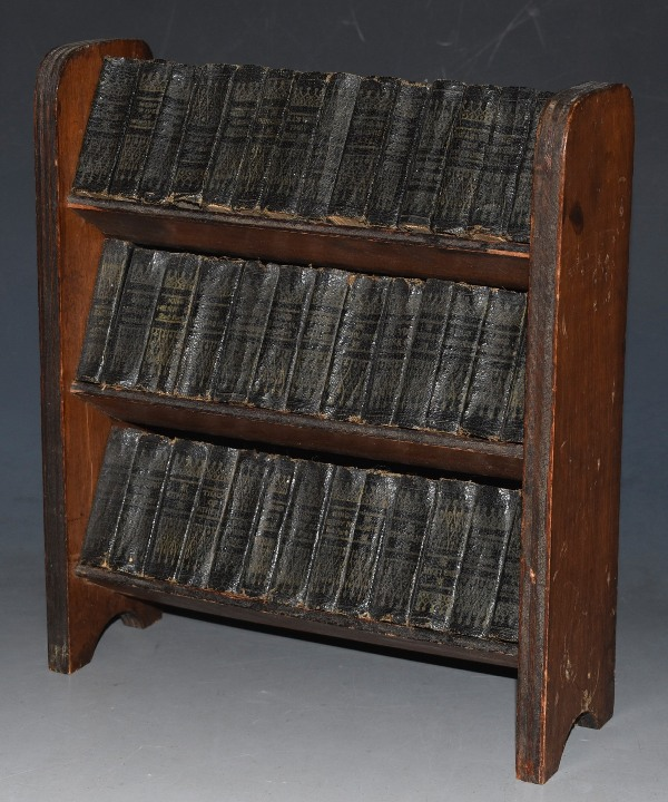 Image for The Complete Works in 40 Volumes. Miniature Set. On Wooden Presentation Shelf.