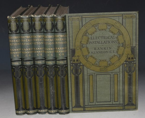 Image for Electrical Installations Of Electric Light, Power, Traction and Industrial Electrical Machinery. A New Edition Revised and Enlarged. In Five Volumes.