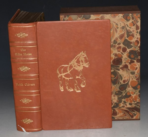 Image for The Shire Horse. A History of the Breed, the Society and the Men. Signed limited edition in fine binding and slip case.