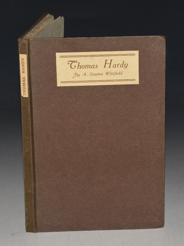 Image for Thomas Hardy. The Artist, the Man and the Disciple of Destiny. A Lecture delivered before La Societe Internationale De Philologie, Science et Beaux-Arts, on April 11, 1921. With an introduction by Sir John Alexander Cockburn.
