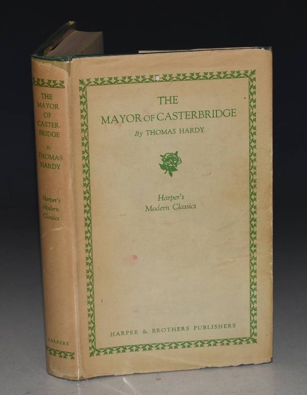 Image for The Life and Death of The Mayor of Casterbridge. A Story of A Man of Character. Harper's Modern Classics. Introduction by J.F.A. Pyre.