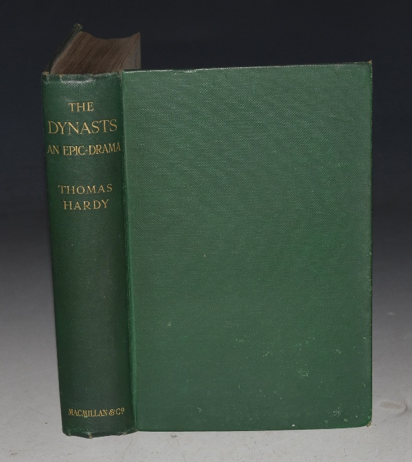 Image for The Dynasts. An Epic Drama of the War with Napoleon, in three parts, nineteen acts, and one hundred and thirty scenes, the time covered by the action being about ten years. Complete Edition. The Poetical Works of Thomas Hardy Volume II.