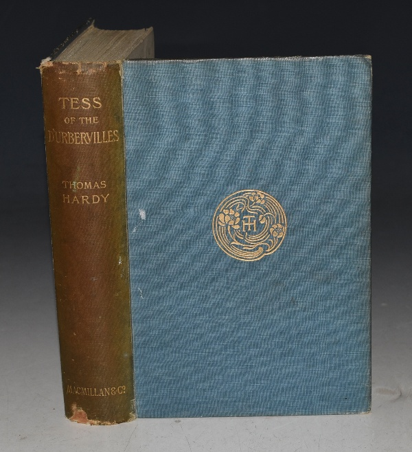 Image for Tess of The D'Urbervilles A Pure Woman. Faithfully Presented. Wessex Novels Volume I. With a map of Wessex.