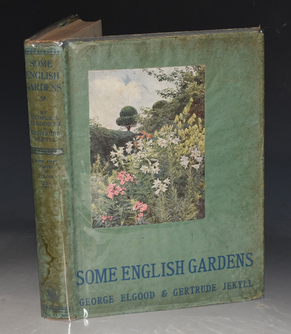 Image for Some English Gardens. After drawings by G. S. Elgood.