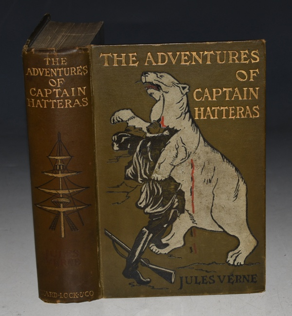 "Image for The Adventures of Captain Hatteras. Containing: ""The English at the North Pole"", and ""The Ice Desert"". Illustrated by Henry Austin."