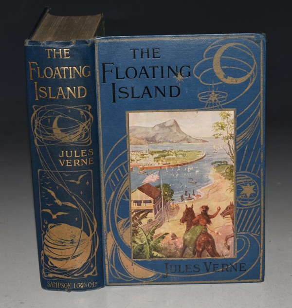Image for The Floating Island Or, The Pearl of the Pacific. New and Cheaper Edition.