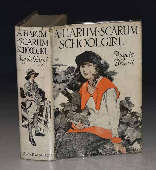 Image for A Harum-Scarum Schoolgirl Illustrated by John Campbell.