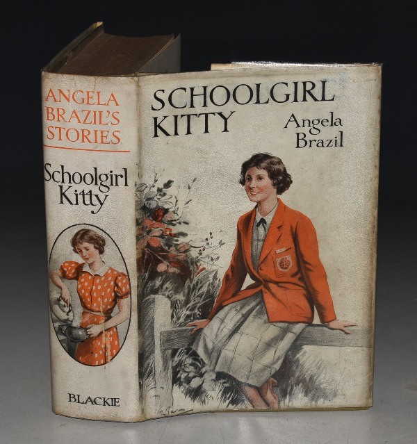 Image for Schoolgirl Kitty Illustrated by W. E. Wightman.