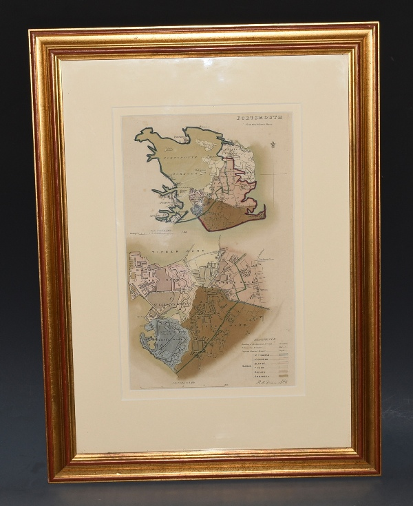 Image for ORIGINAL LITHOGRAPH MAP OF PORTSMOUTH From the Ordnance Survey