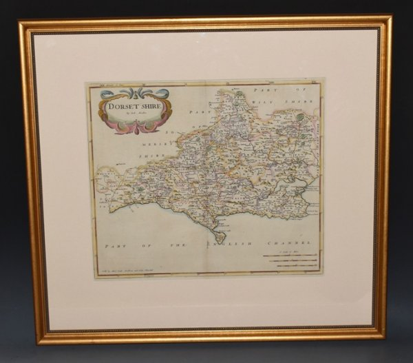 Image for Original Engraved Map of Dorset.