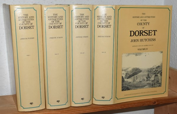 Image for History and Antiquities of the County of Dorset. Third edition by W. Shipp and J. W. Hodson. With a new introduction by Robert Douch. In Four volumes.
